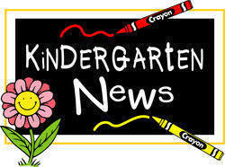 Kindergarten Newsletter - Week of August 31, 2020